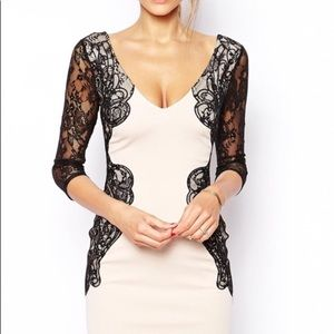 NWT Lipsy Bodycon London Lace